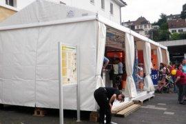 Promotionzelte mit Systemfußboden in Neustadt an d. Weinstraße