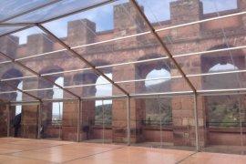 VIP- Zelt mit Transparente Poly- Planen in Heidelberg