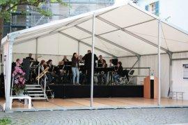 Promotion- und Präsentationszelt in Speyer