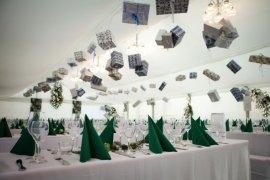 Partyzelt mit Kassettenfussboden in Wiesloch