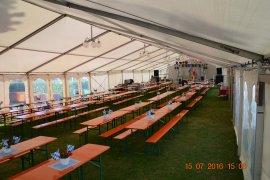Party- Zelt - Mannheim Wallstadt