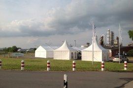 VIP-Zelte in Speyer