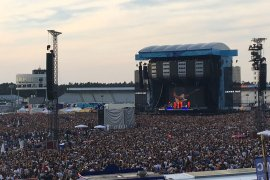 Ed Sheeran Konzert am Hockenheimring