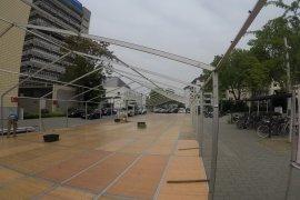 Messezelt 10m x 54m in Mannheim