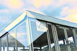 Vollverglastes Pagodenzelt in Karlsruhe