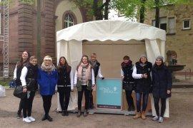 Zelt mit Kassettenfußboden - Karlsruhe