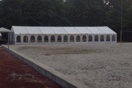 Partyzelt und Cateringzelt mit Kassettenfußboden in Ketsch