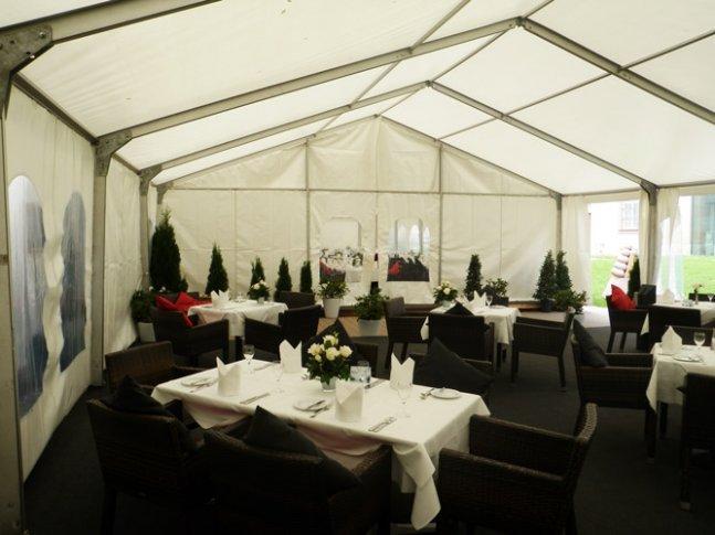 Hochzeitszelt in Mannheim