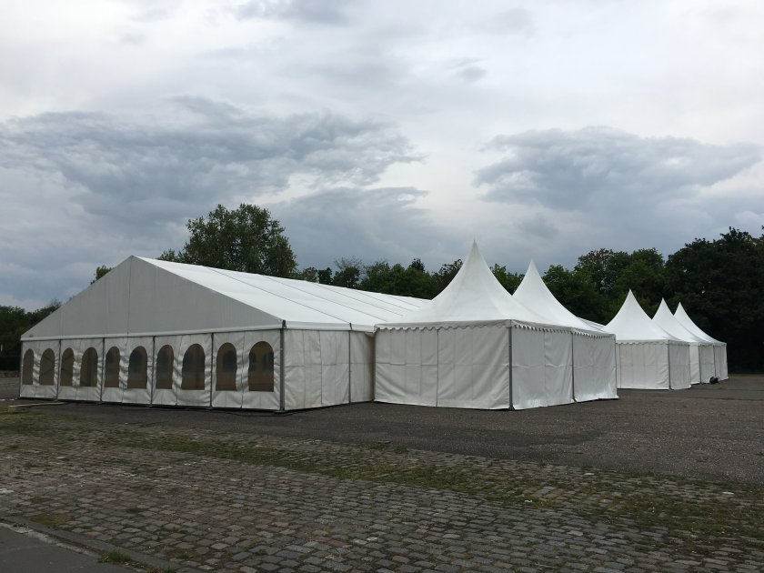 Partyzelte in Ludwigshafen