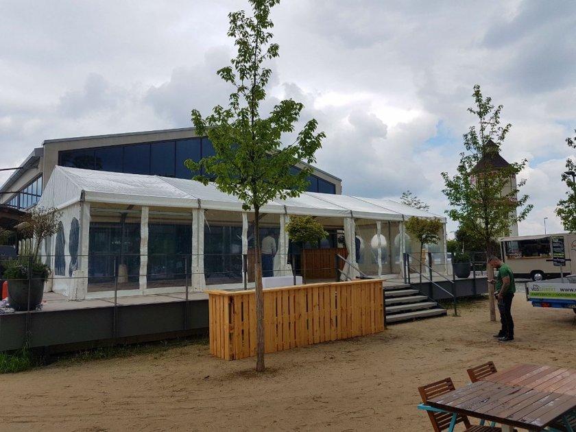 VIP-Zelte in Heidelberg