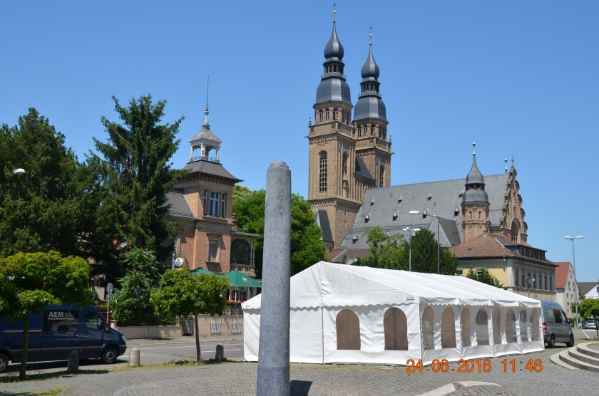 Partyzelt in Speyer