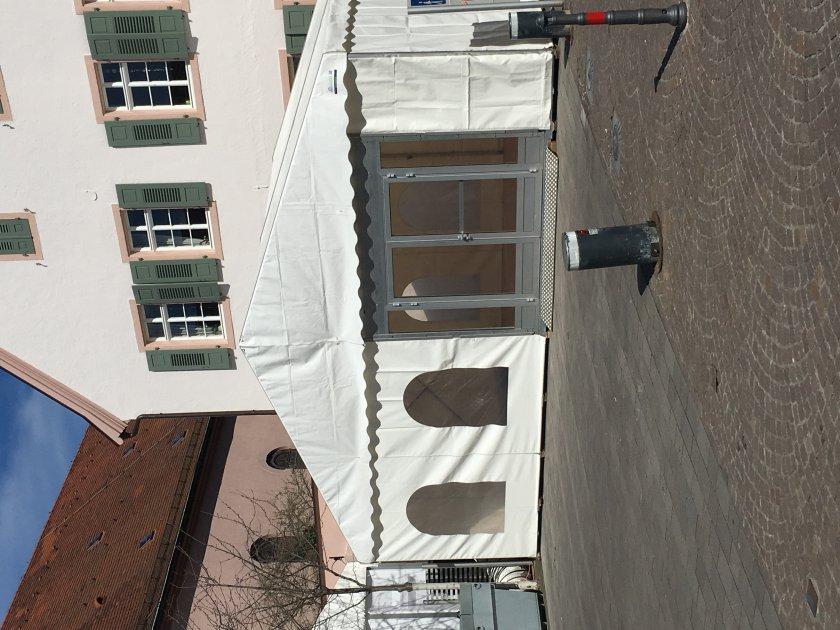 Messe Zelt Schwetzingen