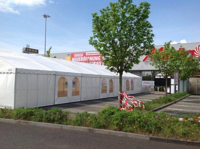 Promotionzelte in Mannheim