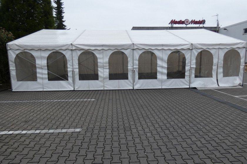 Mannheim Nekarau Verkaufszelt außen