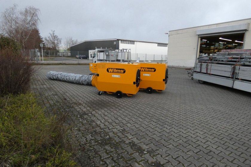 Heißluft-Turbine 110kW